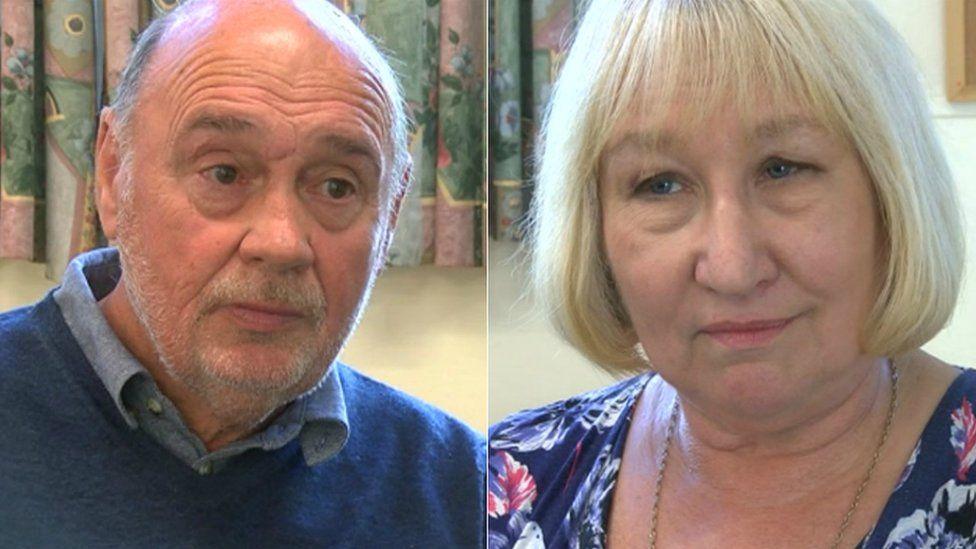 Tony Harris a Julie Davies