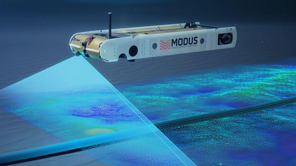 Modus unmanned autonomous vehicle - artists render