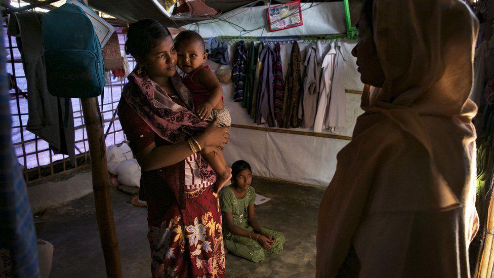 الروهينجا يحيون الذكرى الثانية لنزوحهم إلى بنغلاديش