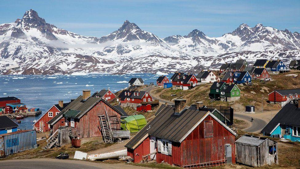 View of Tasiilaq, Greenland, June 2018