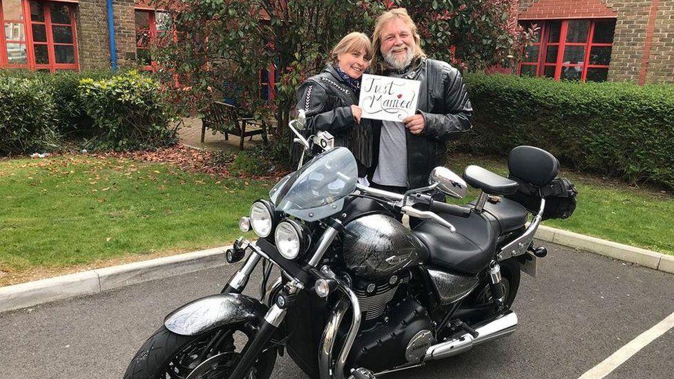 Tina and Mick Hickton