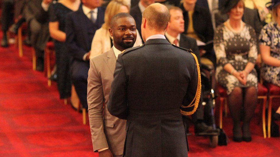 Prince William and David Oyelowo