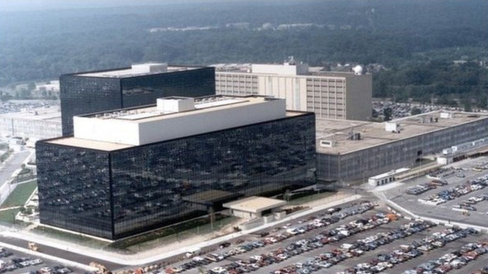 The National Security Agency in Fort Meade, Maryland undated photo