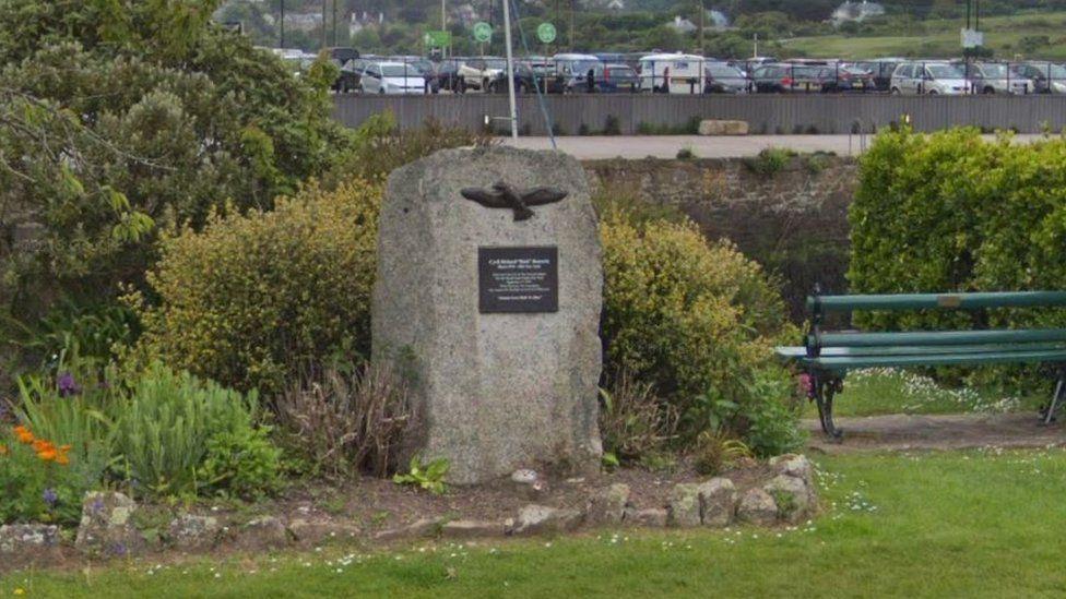 Memorial in Hayle