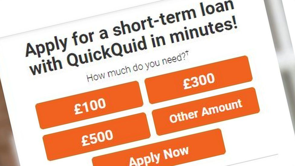 Still from QuickQuid website