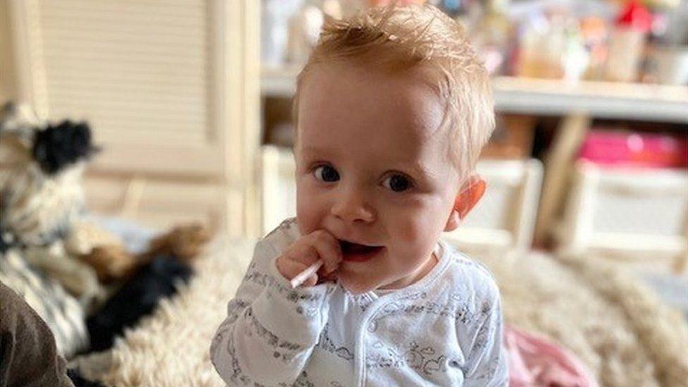 Bethany's son, Freddie