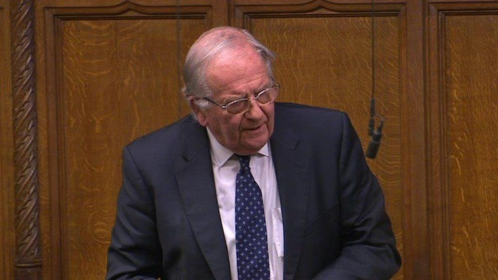 Sir Roger Gale, MP for North Thanet
