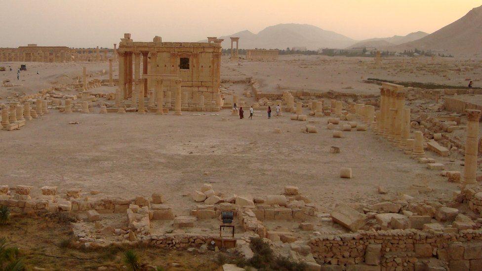 Temple of Baalshamin, October, 2009