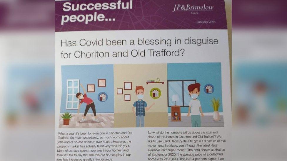 JP & Brimelow leaflet