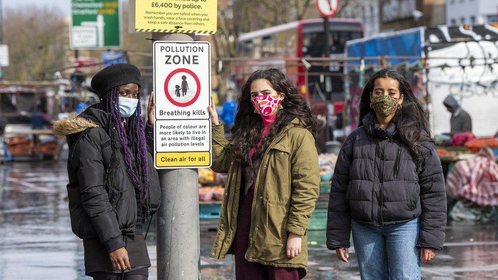 Co-founders of Choked Up: Destiny Boka Batesa, Anjali Raman-Middleton and Nyeleti Brauer-Maxaeia,