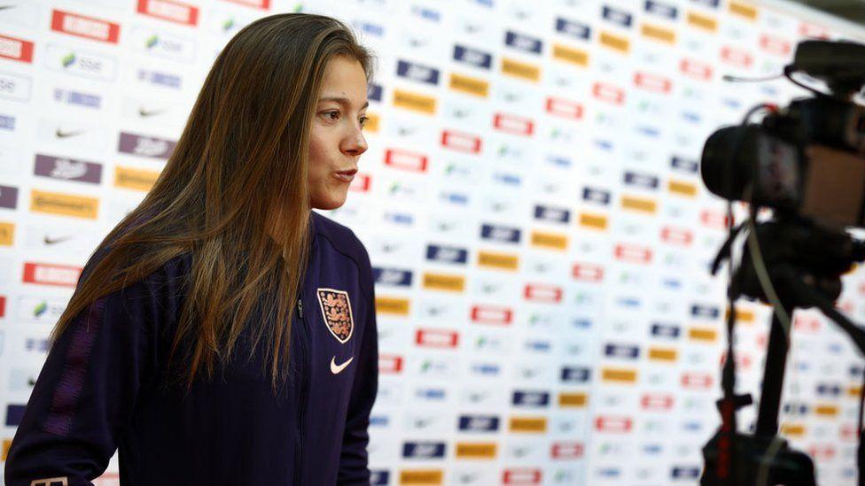 England star Fran Kirby