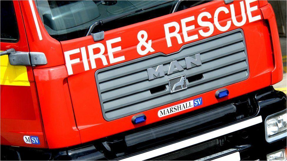 NIFRS fire engine