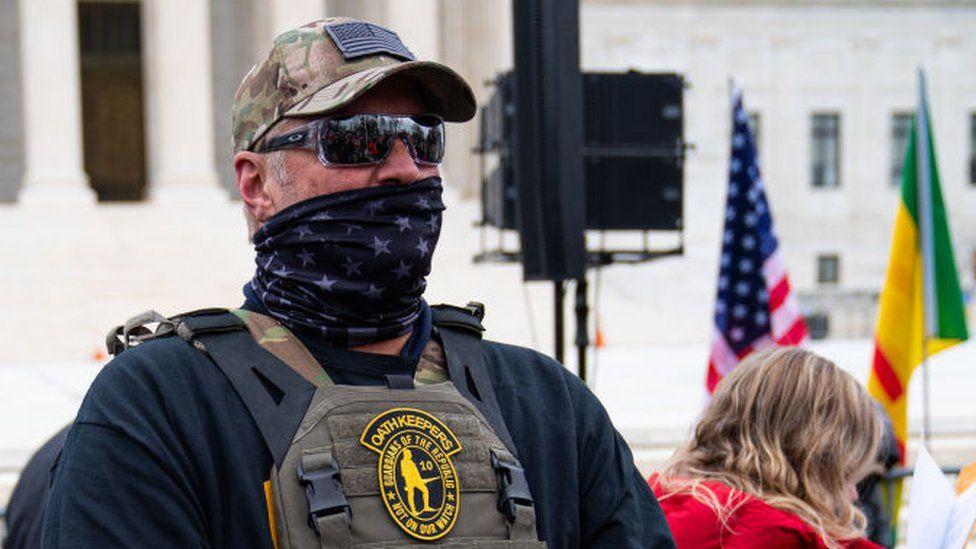 Oath Keeper militia member