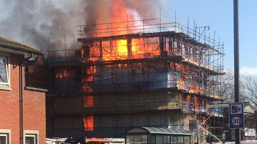 fire in St Marys