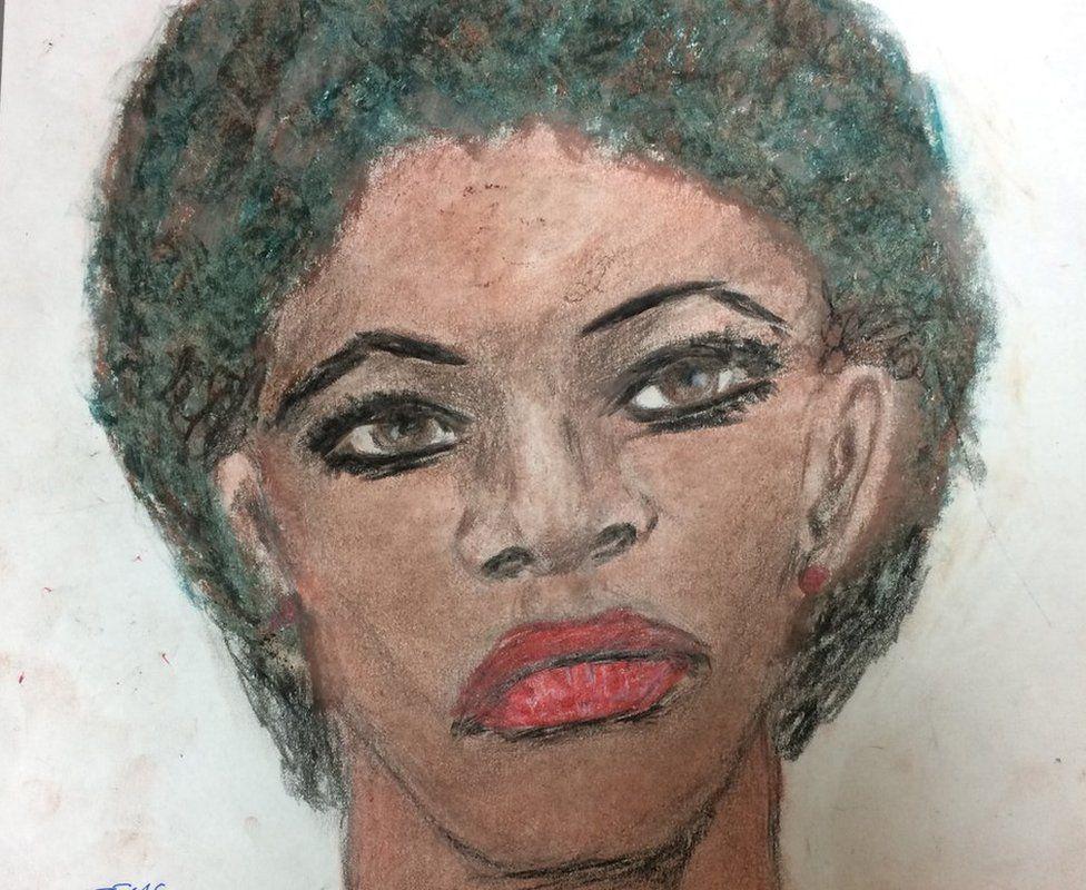 FBI releases serial killer Samuel Little's drawings of victims - BBC