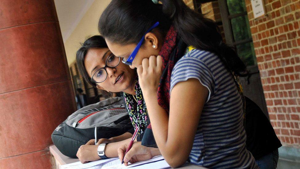 Students in Delhi