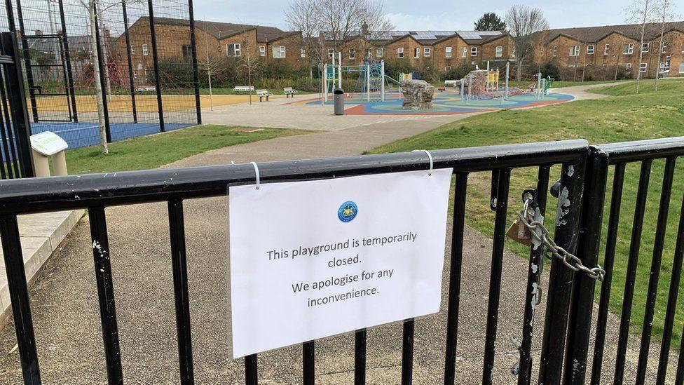 closed play park