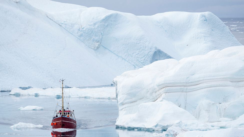 Ilulissat fjord, Greenland, 20 Sep 17
