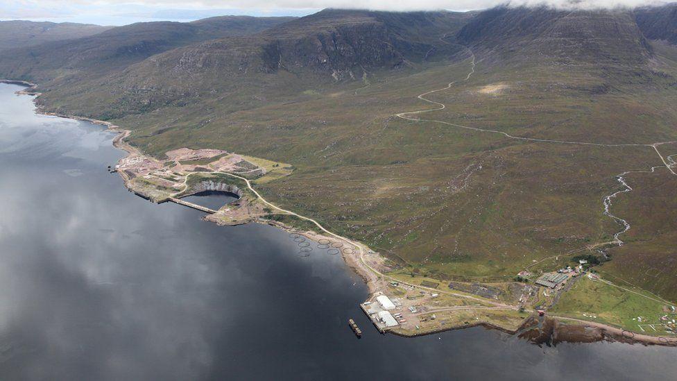 Aerial image of Kishorn