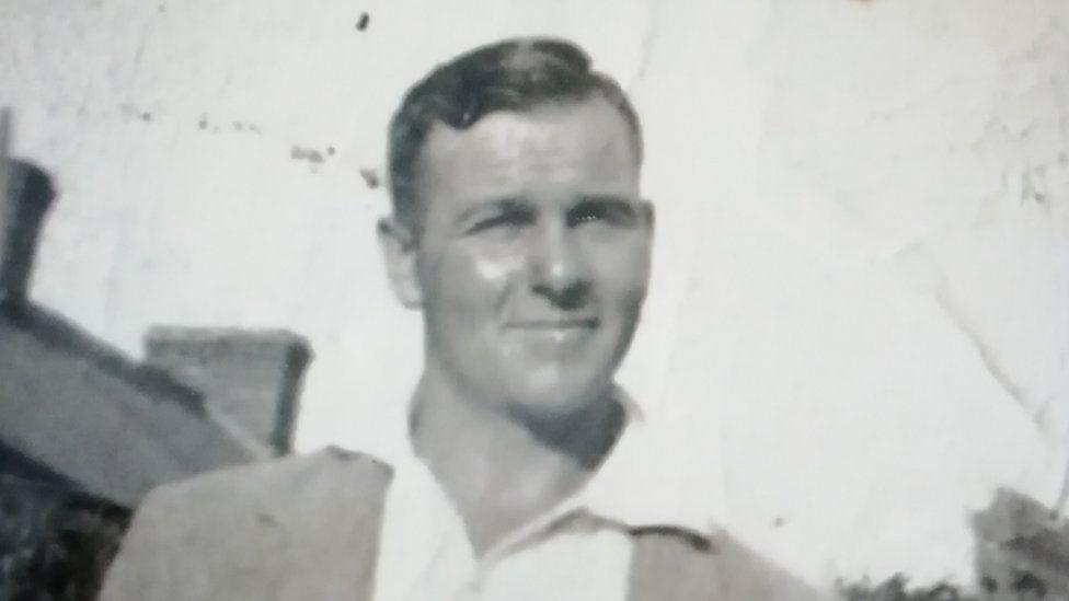 A 1937 photograph of James Charles Bond