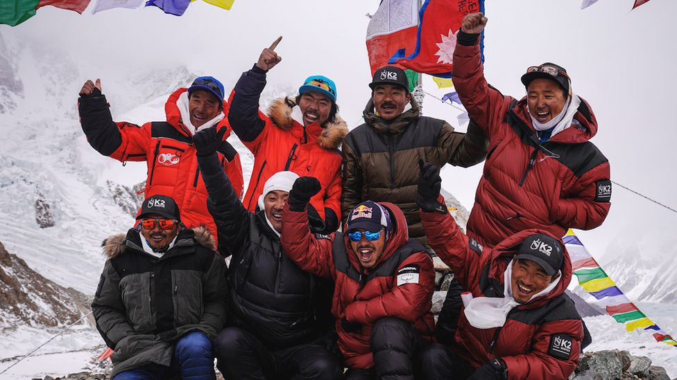 A Nepali team of climbers becomes the first to summit K2 in winter, 16 January 2021