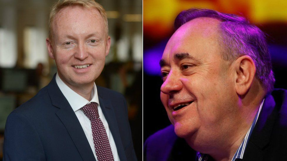 Frank O'Donnell and Alex Salmond