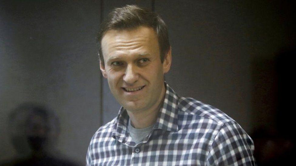 Russian dissident Alexei Navalny