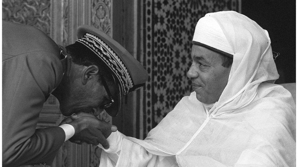 King Hassan II of Morocco