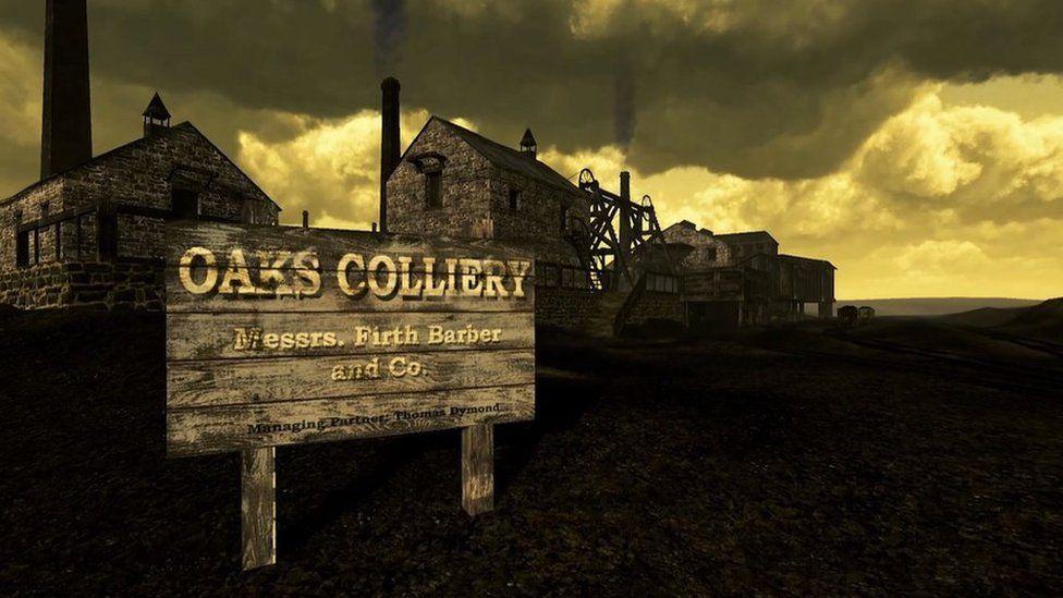 Oaks Colliery recreation.