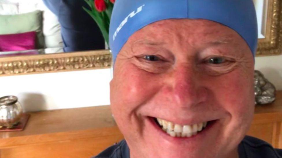 Cancer survivor completes Royal Windsor triathlon