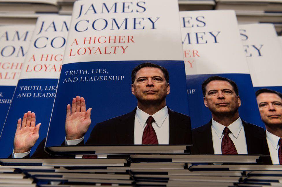 Comey's book