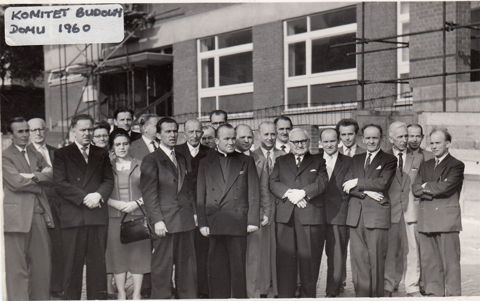 The committee responsible for the design and build of the Millennium House in Bordesley Street