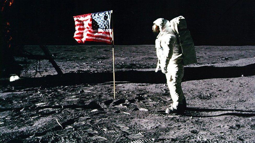 Установка флага США