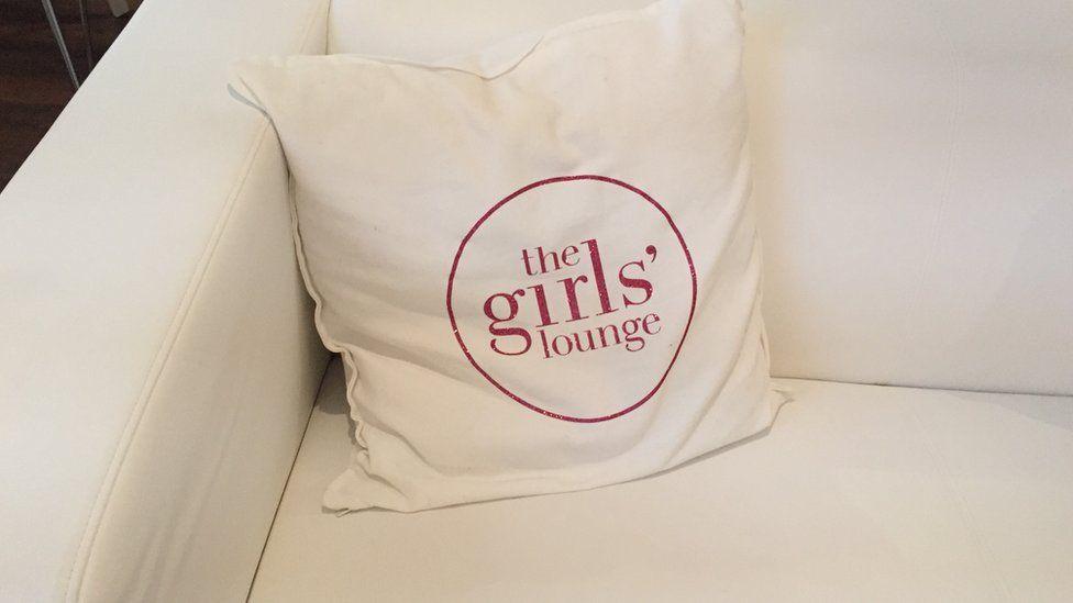 Girls' Lounge cushion