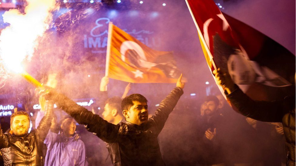 CHP supporters in Istanbul