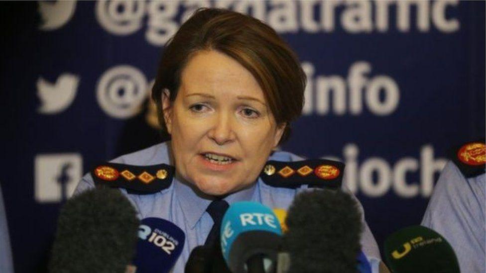 Garda commissioner Nóirín O'Sullivan