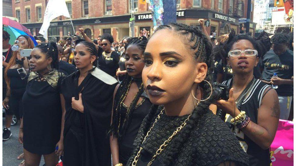 Black Lives Matter at Toronto Pride