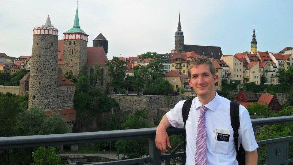 David Sheppard in Germany in 2011