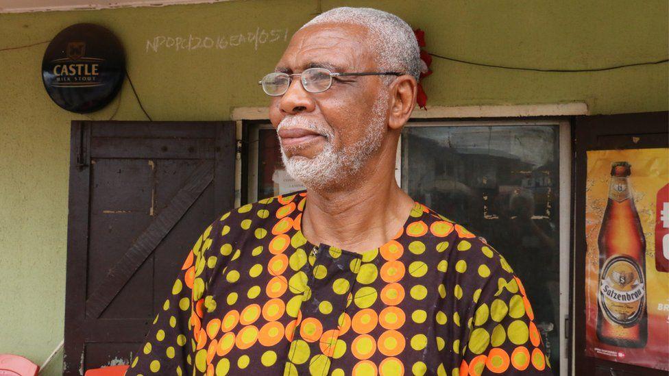 Nkem Ifejika's father Don