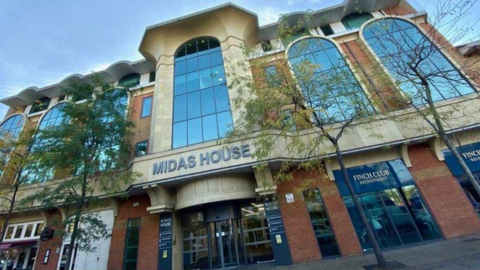Midas House in Woking