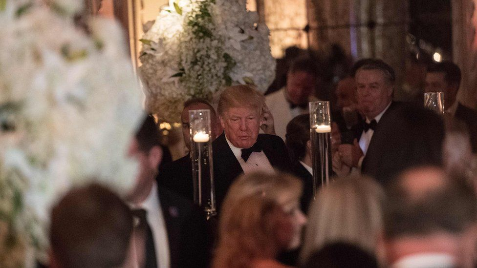 Trump at Mar a lago