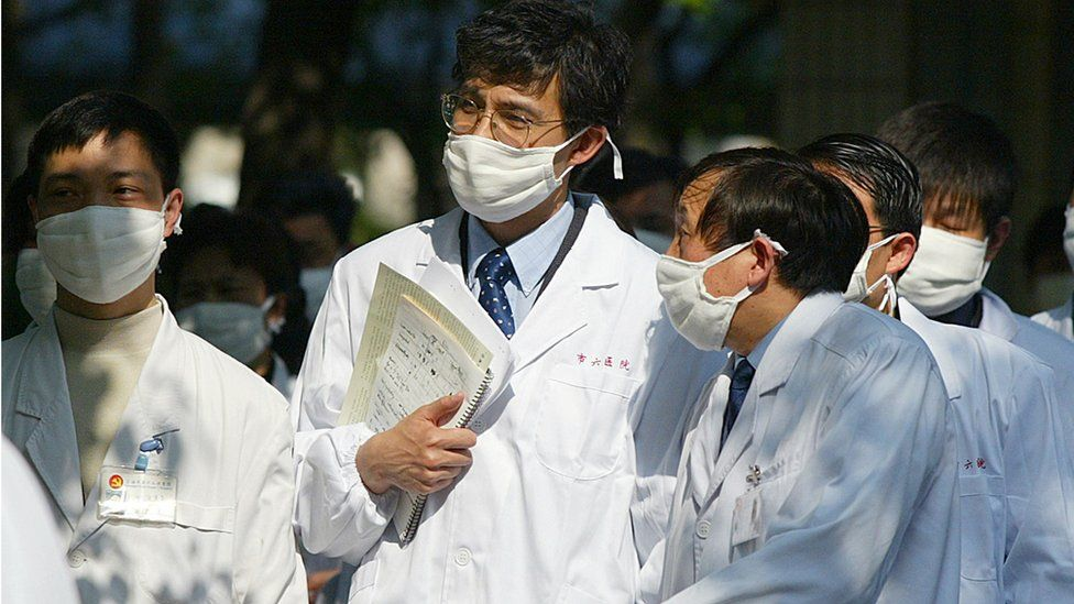 A group of doctors in China