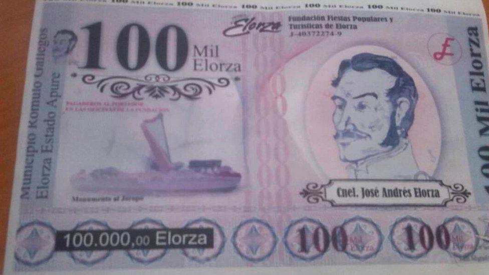 A view if a 100,000 Elorza bill