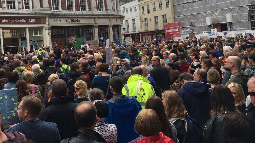 EU rally in York