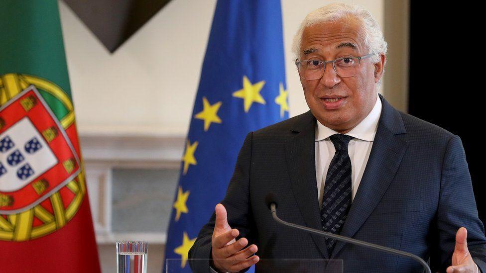 Portugal's Prime Minister Antonio Costa