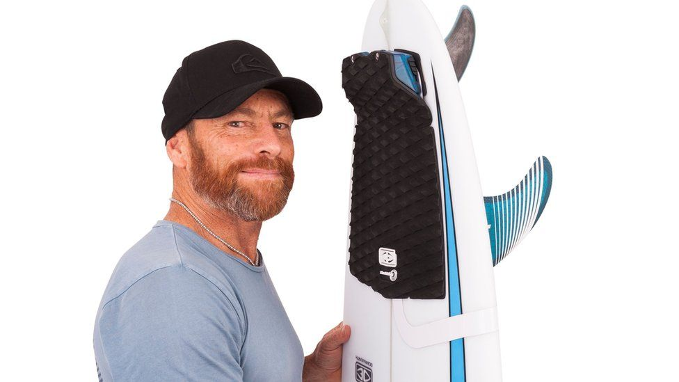 Tom Carroll with the new Freedom+ Surf product