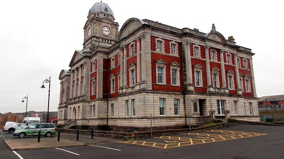Photo of Vale of Glamorgan council's Dock Offices in Barry