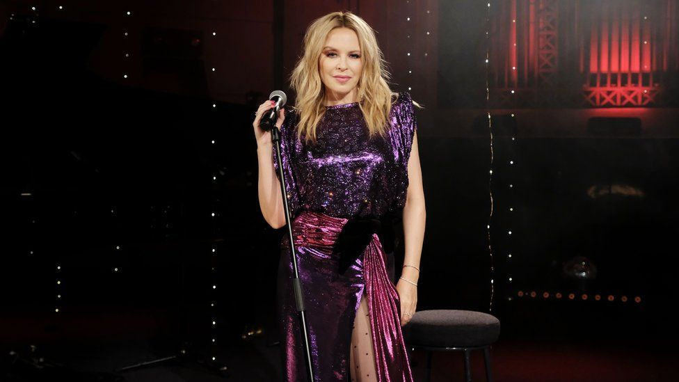 Kylie Minogue at the BBC