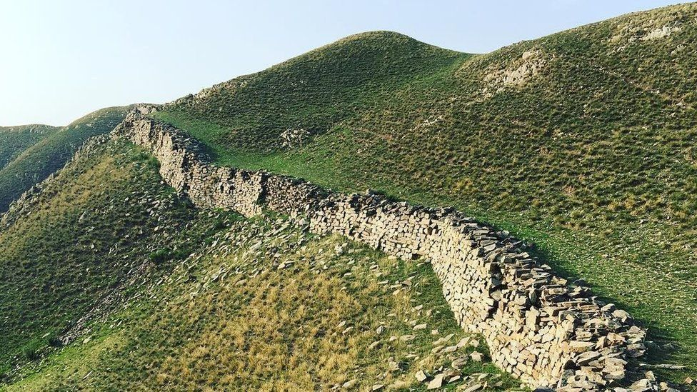Zhao Wall in Inner Mongolia