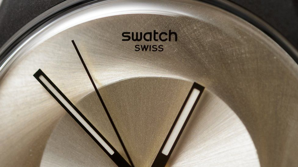 Swatch watch face